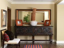 Crate And Barrel Dubois Mirror by Entryway Table With Mirror