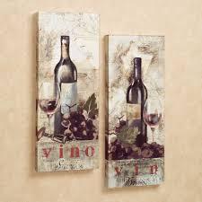 wall art ideas design kitchen tapestries wine canvas wall art