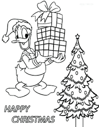 daffy duck christmas coloring pages mother baby donald