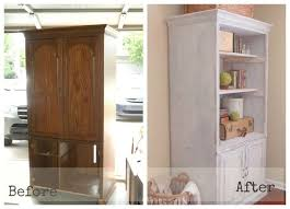 Bookshelves And Cabinets by Media Cabinet Makeover Entertainment Center To Bookcase Hometalk