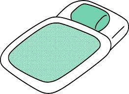 clipart basic futon