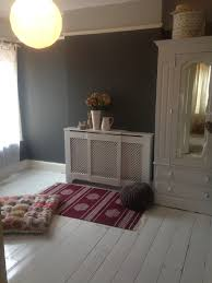 farrow and ball downpipe walls white gloss painted floorboards
