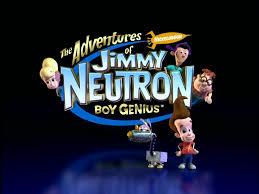 image adventures jimmy neutron boy genius title card