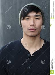 with lip ring and beanie stock photo image of arrogant