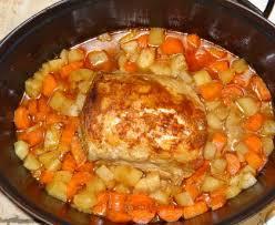 cuisine roti de porc en cocotte rôti de porc aux carottes et navets recette de rôti de porc aux