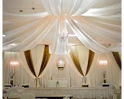 ceiling draping ceiling draping sheer draping fabric wholesale wedding chair