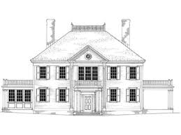 colonial revival house plans federal colonial house plans ideas the