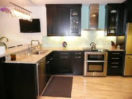best paint color for kitchen with dark cabinets what color tile with light cabinets memsaheb net