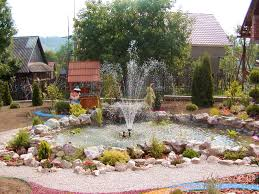 Small Backyard Water Feature Ideas Landscape Water Fountains Ideas Backyard Design Ideas