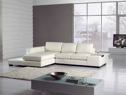 Affordable Modern Sectional Sofas Amazon Com T35 Mini White Bonded Leather Sectional With Light
