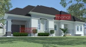 Bungalow House Design Bedroom Bungalow Plan In Nigeria 4 Bedroom Bungalow House Plans 3