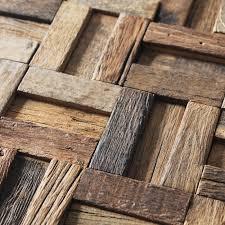 Rustic Wood Interior Walls Aliexpress Com Buy Ancient Ship Wood Mosaic Floor Tiles Wall