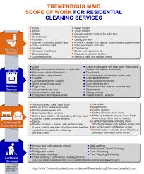 residential cleaning service cleaning tasks tremendous maid
