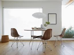 Wood Furniture Designs Chairs Eames Molded Wood Side Chair Wire Base Herman Miller
