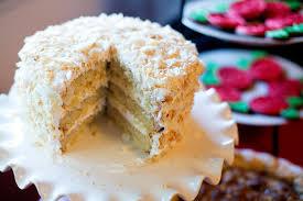 coconut cake with marshmallow frosting u2013 bakin u0027 bit