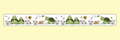 turtle wallpaper border wall art decals nursery stickers 621