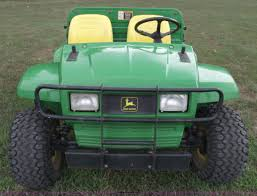 john deere gator 6x4 utility vehicle item a4112 sold au