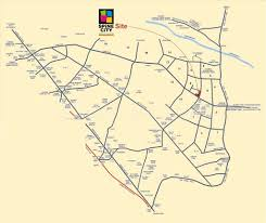 Spine Map Ellora Group Spine City Map Spine City Moshi Pune Location Map