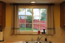 Kitchen Window Valance Ideas by Curtains For Kitchen Window Brown Espresso Wood X Flor Table With