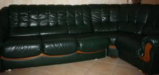 canap cuir vert vends grand canapé d angle droit 5 6 places cause changement lillers