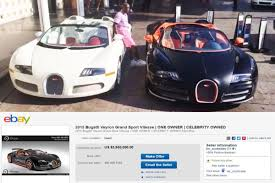 Bugati Veryon Price Floyd Mayweather U0027s Old Bugatti Veyron Is Up For Sale On Ebay
