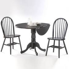 Black Drop Leaf Kitchen Table by 48 Round Drop Leaf Tables Including Winsome Wood International