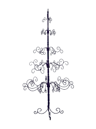 patch magic w xtree4 wrought iron 7 foot christmas tree
