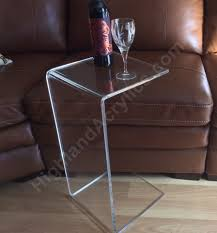 ctable1 2 c table clear acrylic side end table laptop sofa tables