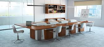 Modular Conference Table Contemporary Conference Table Wooden Modular Electric I