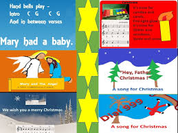 songs and carols for christmas easy child friendly accompaniments