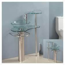 Stand Alone Vanity Glass Bathroom Vanity Best Bathroom Decoration