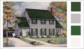 weatherbest color schemes vintage paint color antique home