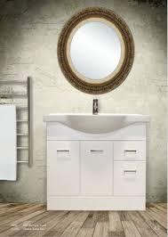 newtech ravani double basin vanity kolum mirror kolum tower