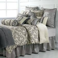 Bedding Sets Luxury Luxurious Bedding Sets Cheap Snow White And Silver