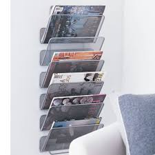 Bathroom Wall Magazine Rack Magazine Racks For Bathroom Fpudining