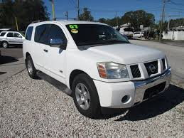 nissan suv white nissan armada in florida for sale used cars on buysellsearch