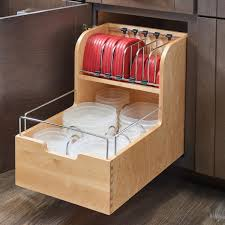 Kitchen Wrap Organizer by Features 1 Wood Organizer Dividers And 1 Set Of Blumotion
