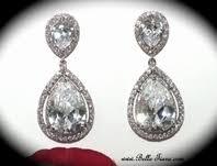 Chandelier Earrings Bridal Wedding U0026 Bridal Earrings Chandelier Earrings Bella Tiara Com