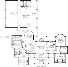 Garage Pool House Plans by 407 Best House Plans Images On Pinterest House Floor Plans