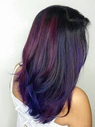 weave hairstyles with purple tips 40 versatile ideas of purple highlights for blonde brown and red hair