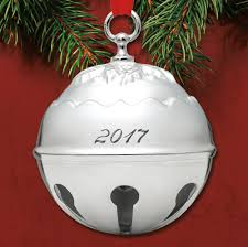 2017 reed u0026 barton holly bell 42nd silverplate ornament sterling