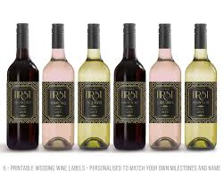 wine wedding gift wedding gift idea wine label milestone wedding gifts for the