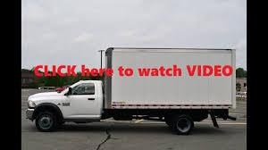 Dodge Truck With Ram Box - 2015 dodge ram 5500 16ft box truck with ramp cummins diesel youtube