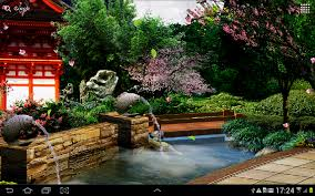 eastern garden live wallpaper android apps on google play