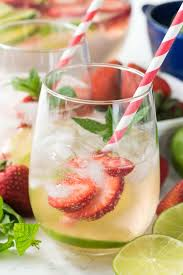 strawberry lime party punch recipe strawberry vodka cocktails