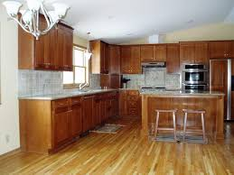 Kitchen Wood Cabinets With Floors Floor Eiforces - Kitchen cabinets wooden