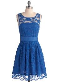 dress blue is in the lair heart paper garland lace dress formal