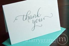 blank wedding thank you cards thin style marrygrams