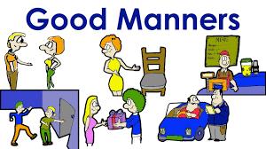 good manners polite easy english conversation practice esl