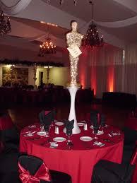 award show hollywood theme bar bat mitzvah black red